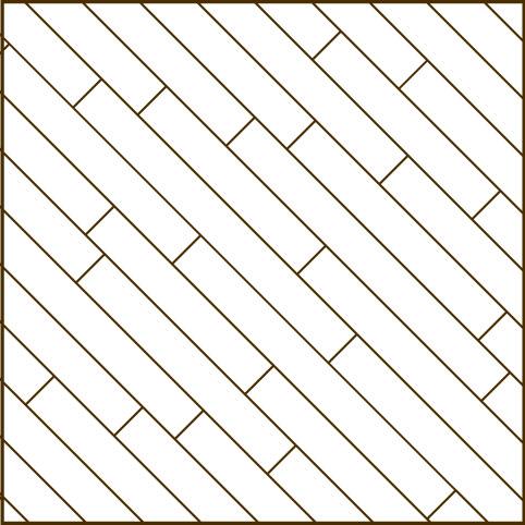Schiffsboden diagonal